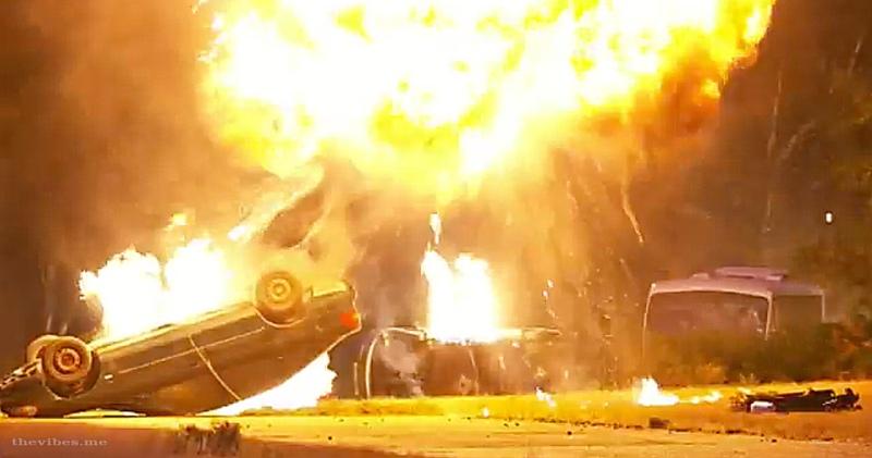 Derren Brown's Apocalypse Meteorite strike