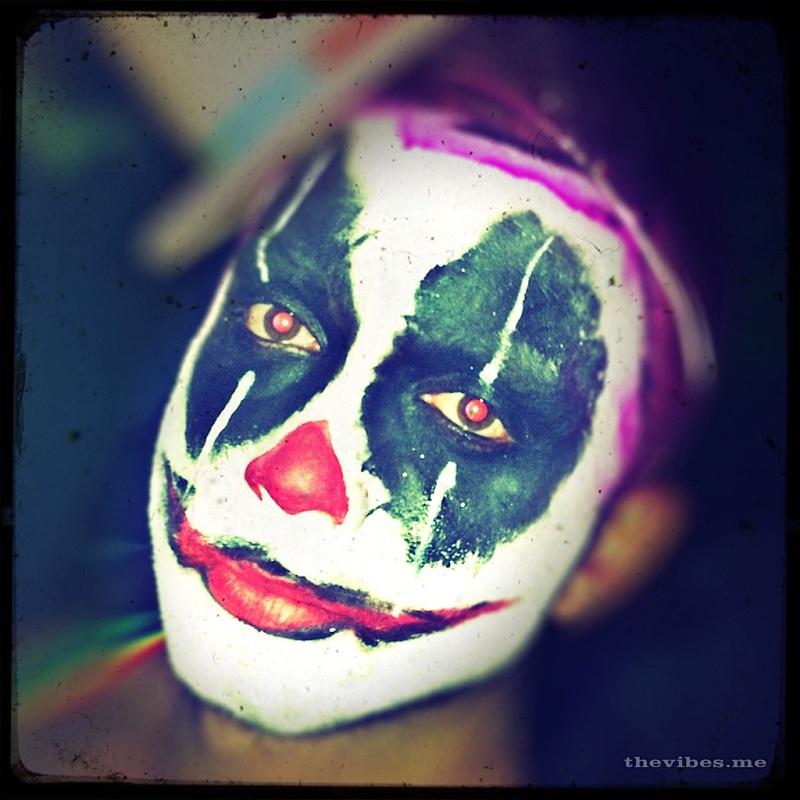 Clown make up Halloween Manchester