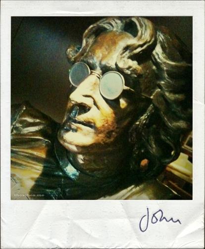 John Lennon Polaroid