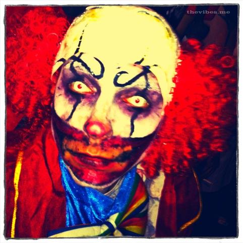 Halloween Clown Manchester
