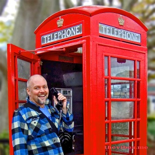 Mark Wallis London Red Telephone Box The Vibes