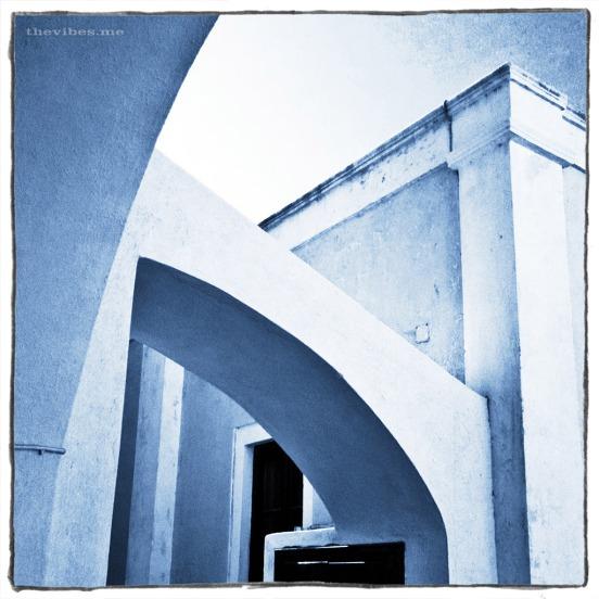 Arch in Oia, Santorini