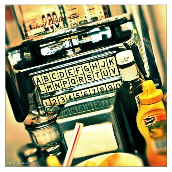 Jukebox, Ed's diner in Euston