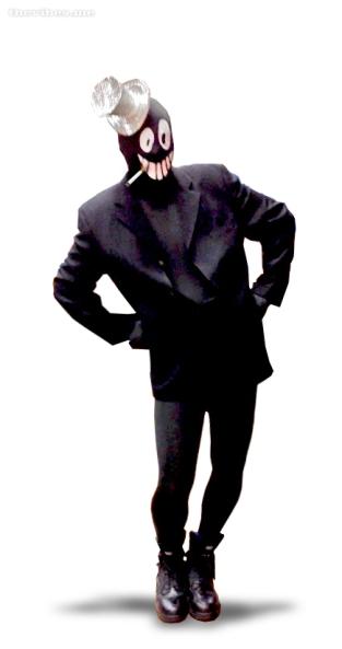 Mr Jolly Halloween Costume Mark Wallis