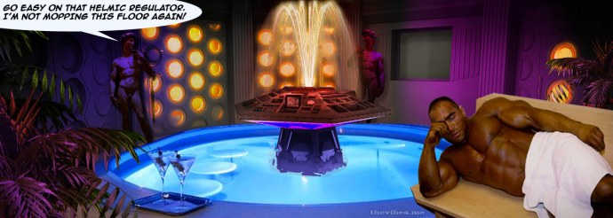 Doctor Who's TARDIS becomes a men's health club