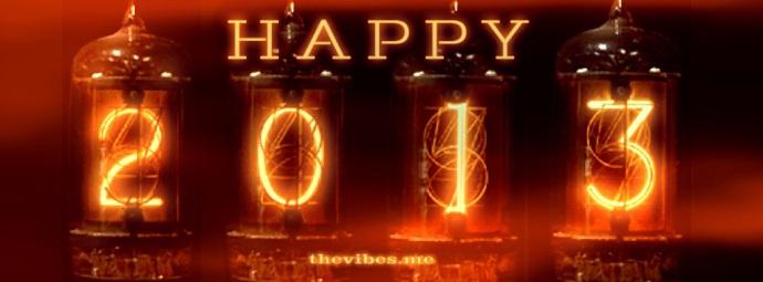 Happy New Year 2013 Nixie Clock The Vibes