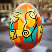 Easter Egg Street Sculpture Manchester