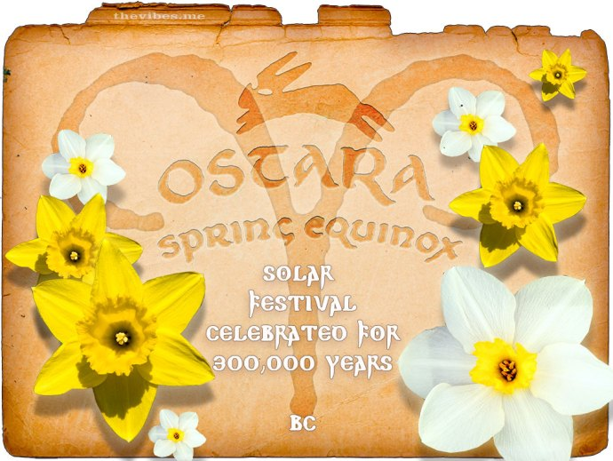 Happy Ostara Card