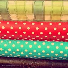 Polka dot cloth