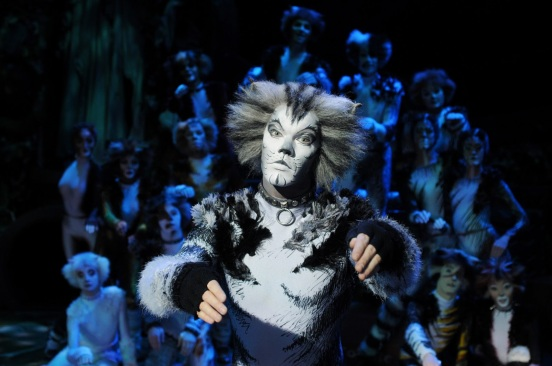 Ben Palmer as Munkustrap Cats Musical UK Tour Photo Alessandro Pinna
