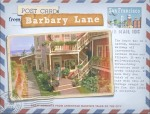 Collage of an imaginary postcard from Barbary Lane in Armistead Maupin's Tales of the City