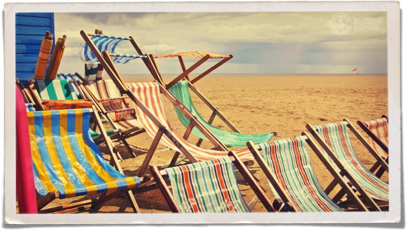 Deck Chairs, Great Yarmouth Seafront