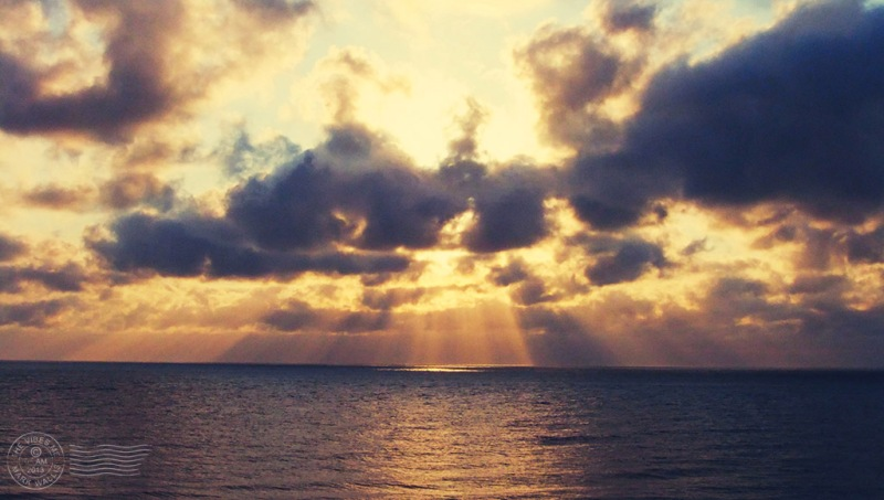 Sunrise over Scratby, Norfolk