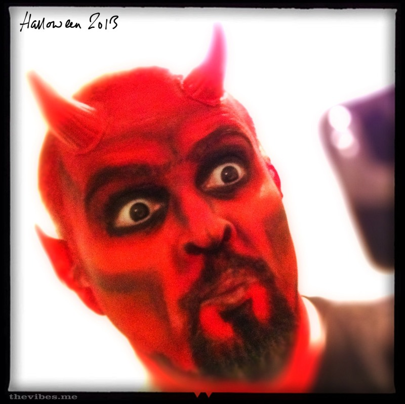 Mark wallis Halloween 2013 Devil Costume