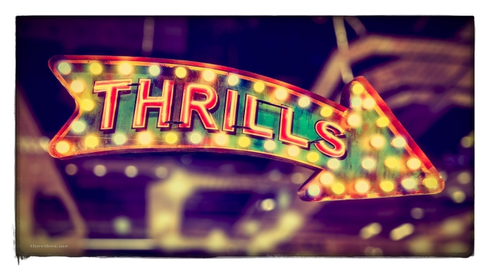 Retro illuminated signage by Mark Wallis