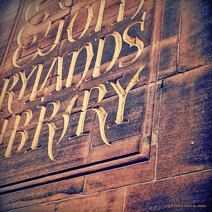 John Rylands Library Manchester by Mark Wallis