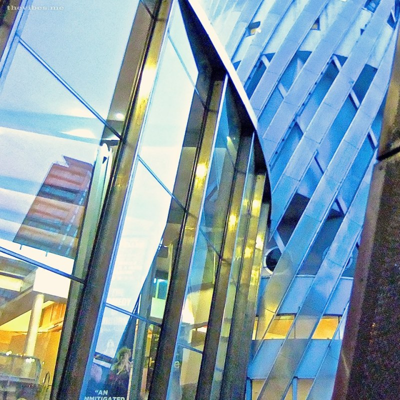 The Lowry Theatre, Salford Quays, architecture detail by Mark Wallis