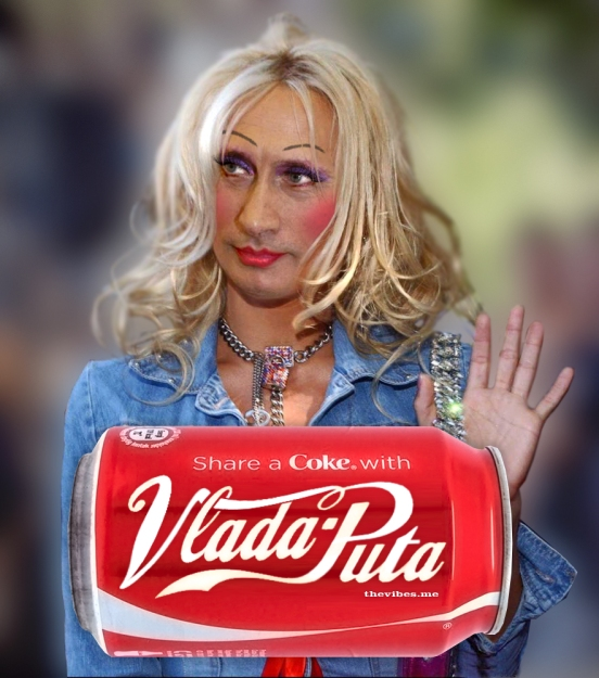 Share a Coke with Vlada Puta