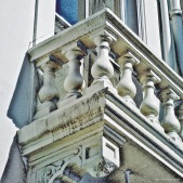Balcony in Kensington London by Mark Wallis on thevibes.me