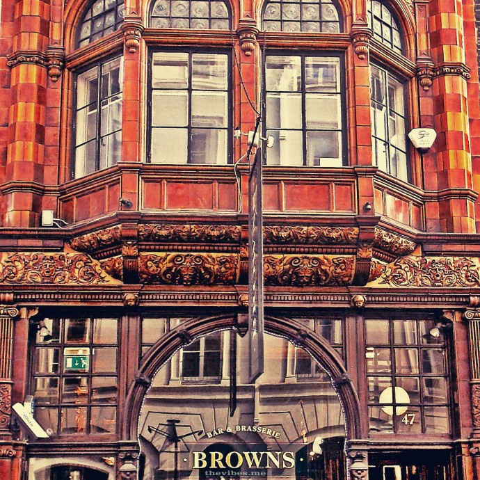 Browns Brasserie Mayfair by Mark Wallis on thevibes.me