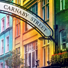 Carnaby Street sign London by Mark Wallis on thevibes.me