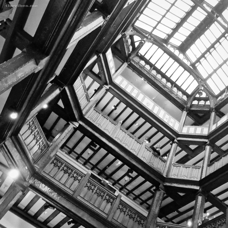 Liberty store London, atrium by Mark Wallis on thevibes.me