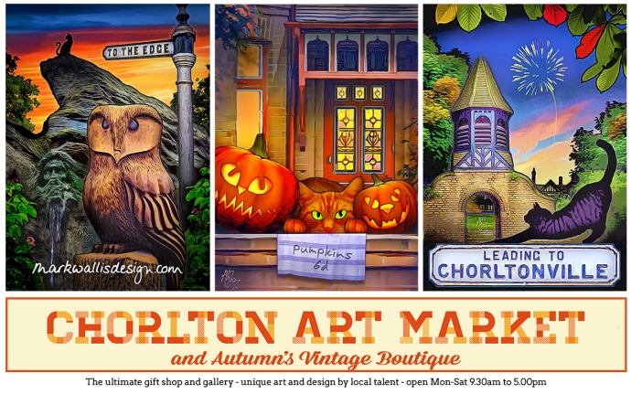 Autumn advert Chorlton Art Market